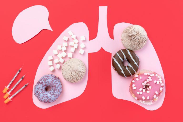 Post glucosa, insulina y grasa corporal